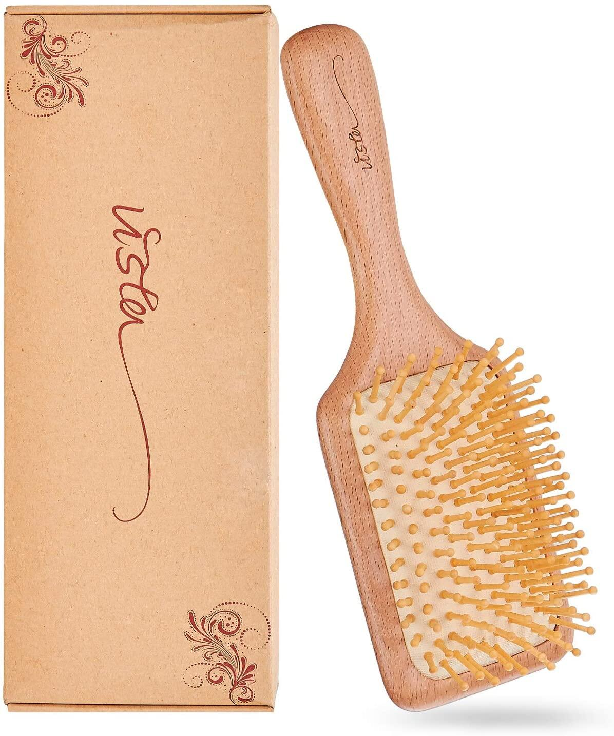 【coming soon】vista hair brush, wooden hairbrush for women anti static massage prevent hair loss round hairbrush 【coming soon】vista hair brush wooden hairbrush for women anti static massage prevent hair loss round hairbrush hair brush