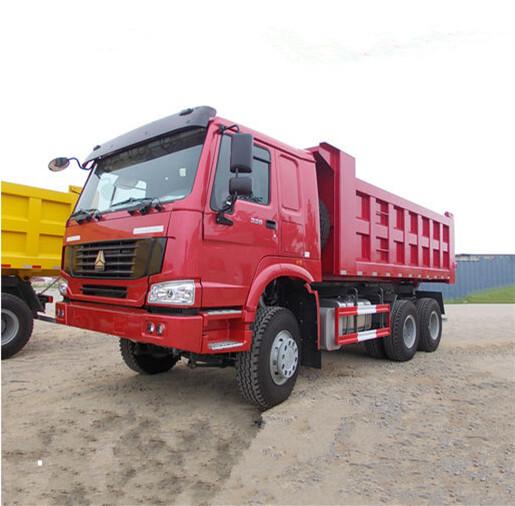 6x4 10 Wheels Shackman Heavy Duty Dump Truck For Mine