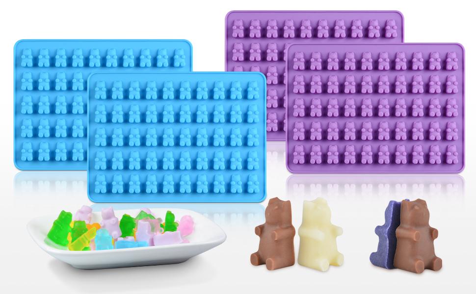 gummy bear molds