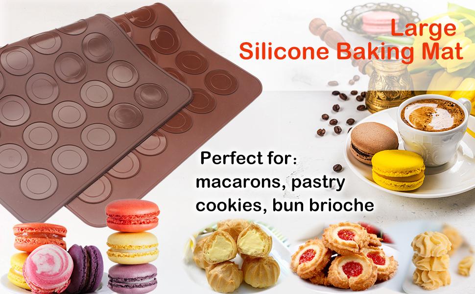 Silicone Baking Mat Macarons