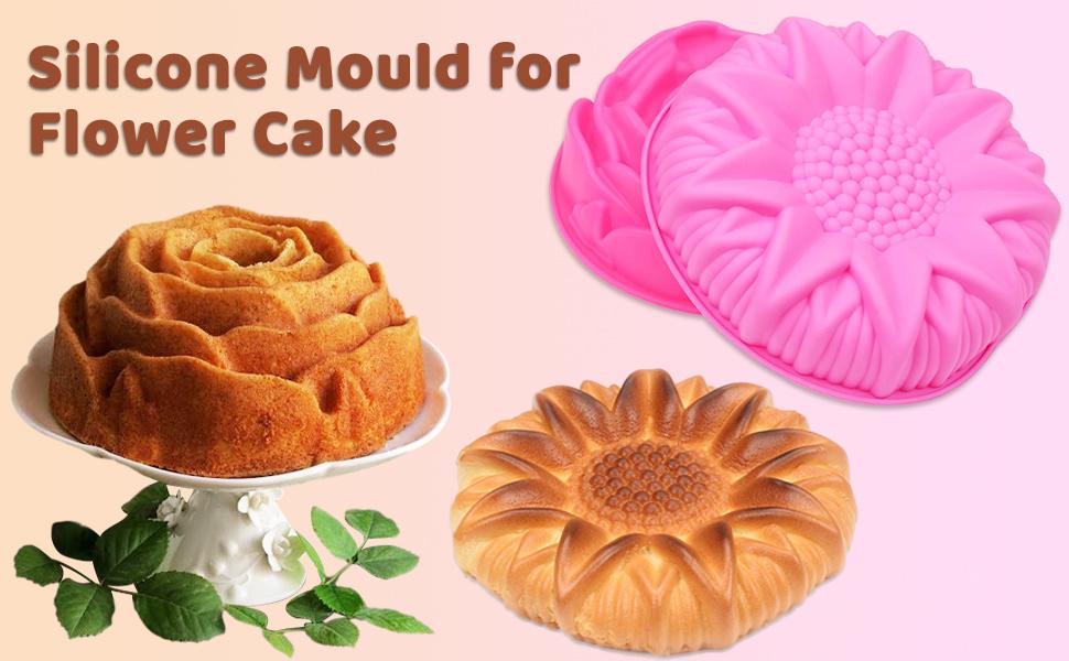 flower cake mold