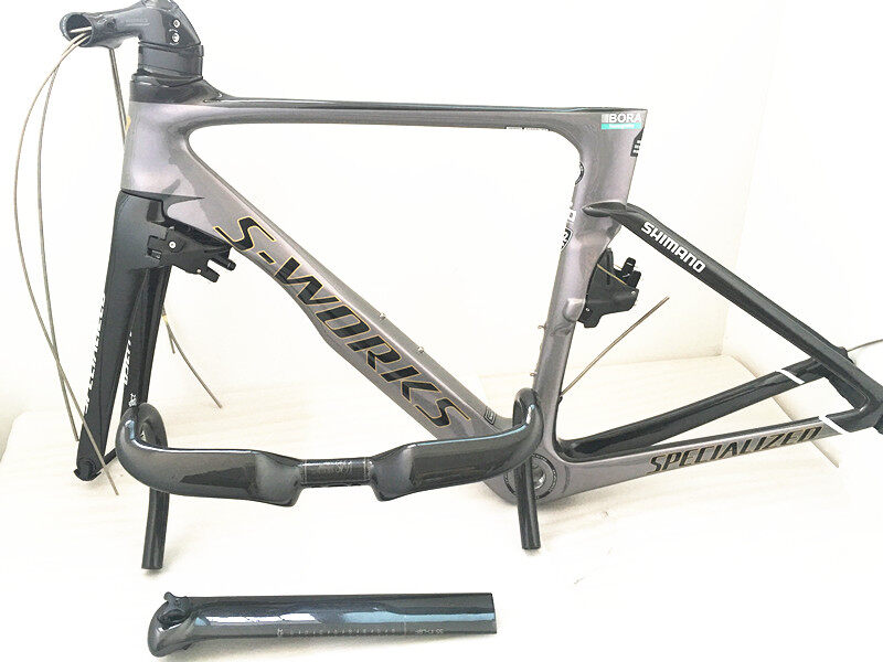 S-works VIAS Bike Road Bicycle Frame UD weave BB30 BSA Glossy Carbon ...