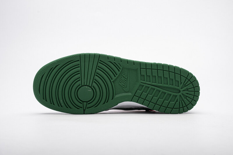 PK God Dunk Low Off-White Pine Green,  CT0856-100