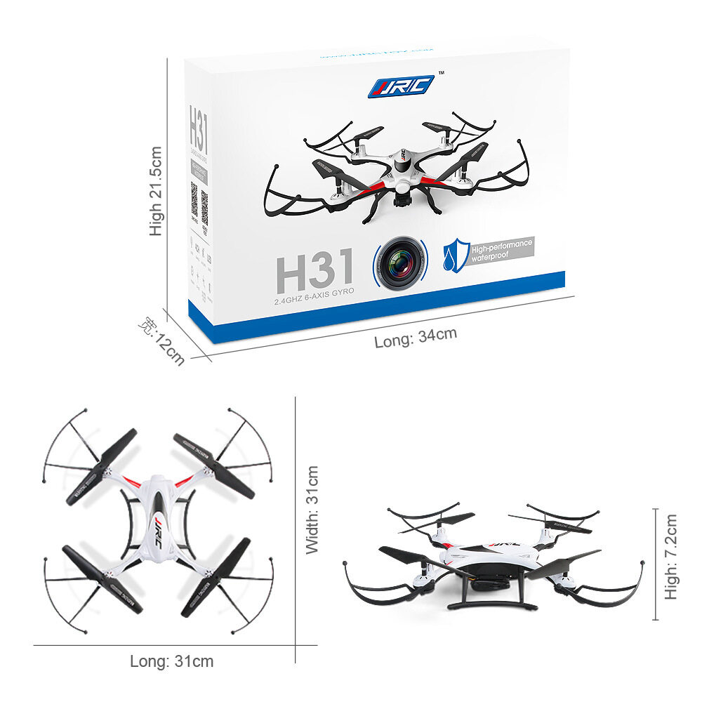 JJRC H31 Waterproof Drone Glider Quadcopter With One Key Return 2