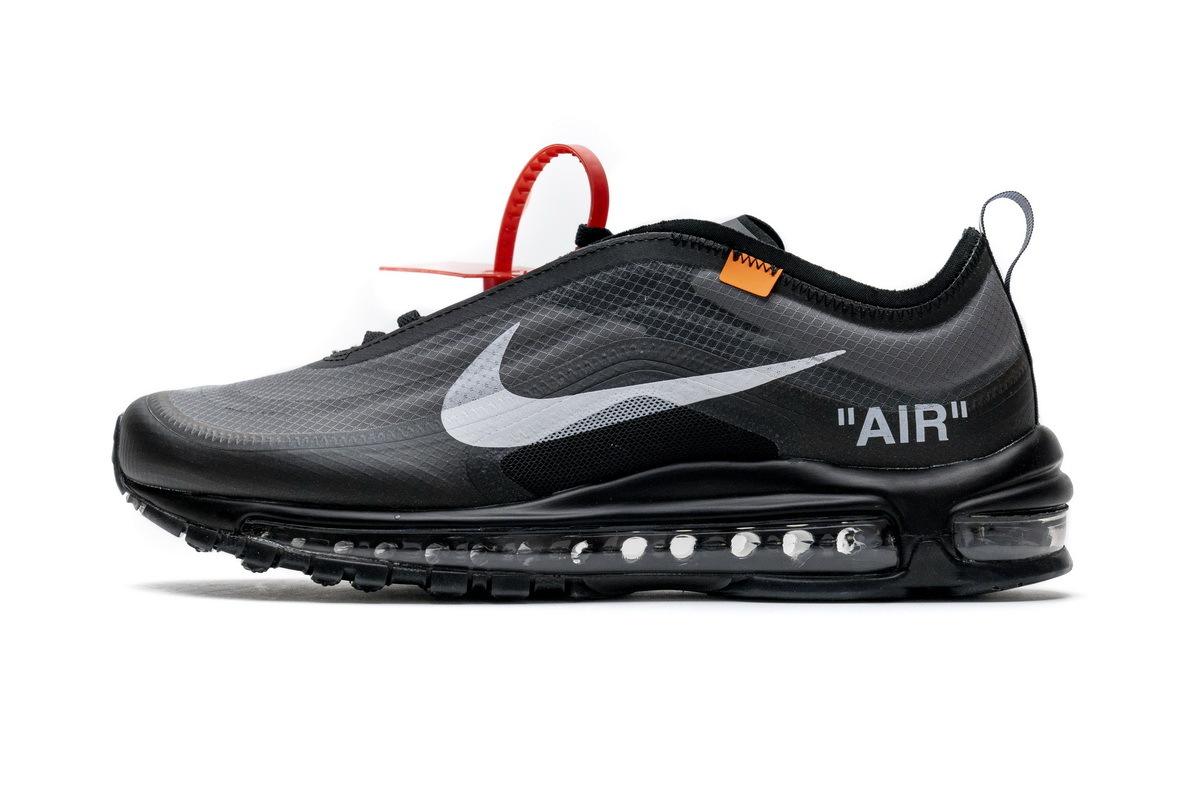 PK God Nike Air Max 97 Off-White All Black