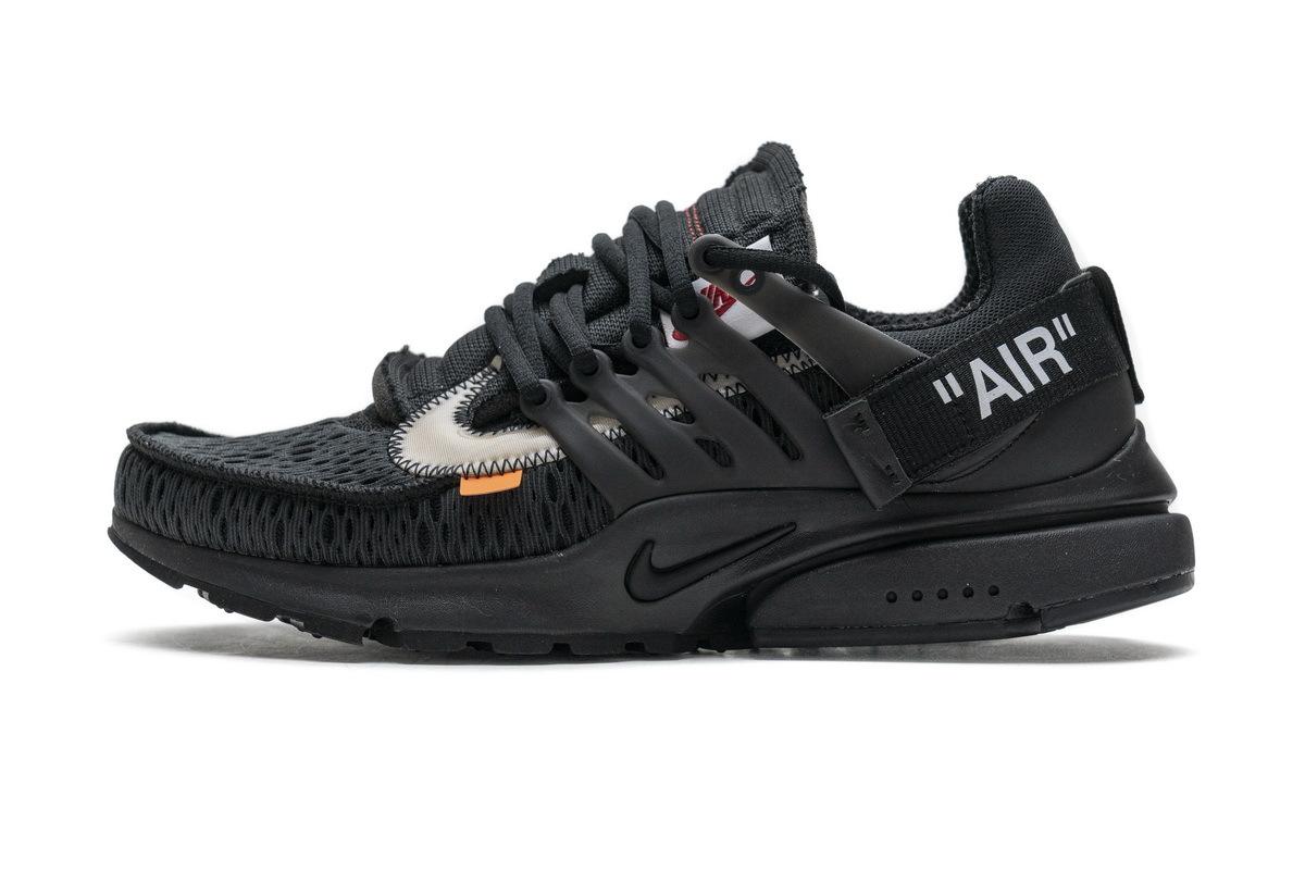 PK God Nike Air Presto Off-White Black