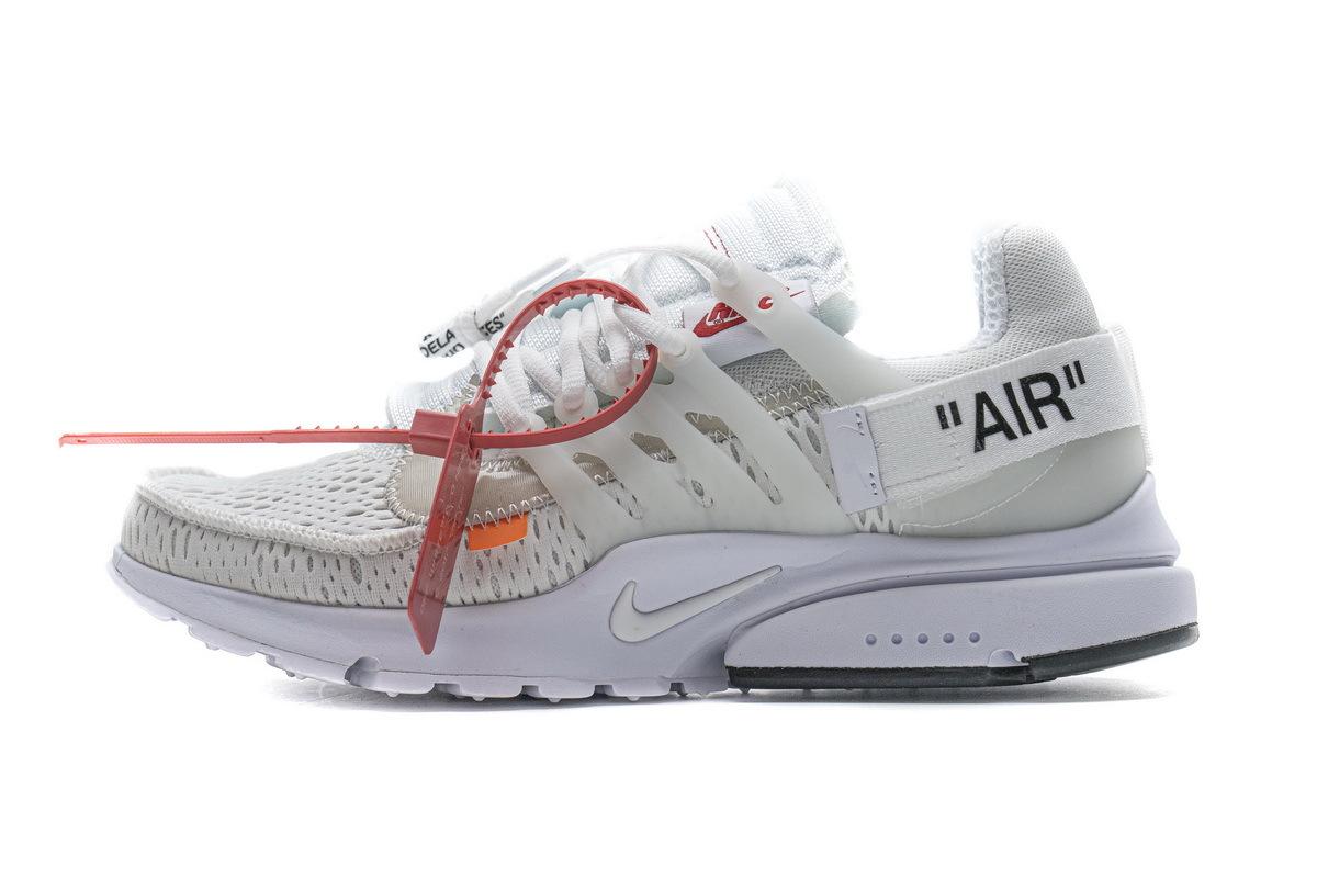 PK God Nike Air Presto Off-White White