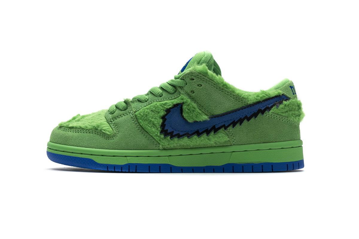 PK God Nike SB Dunk Low Grateful Dead Green Bear