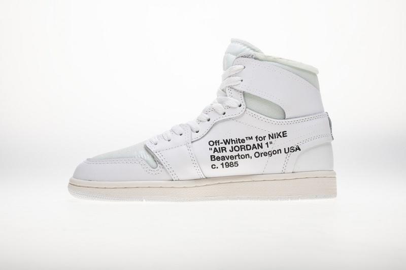 PK God  Air Jordan 1 Retro High Off-White White