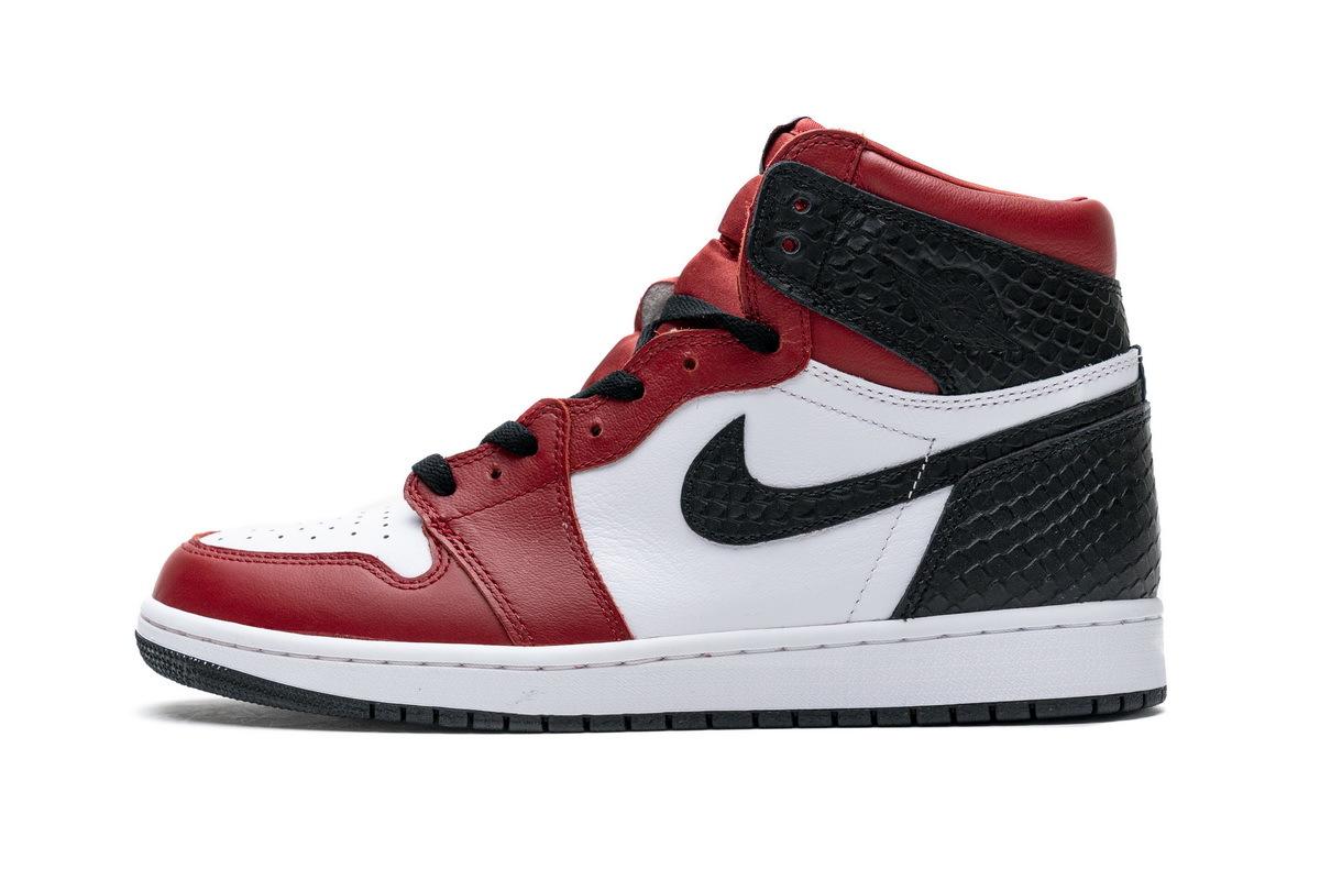 PK God  Air Jordan 1 Satin Snakeskin