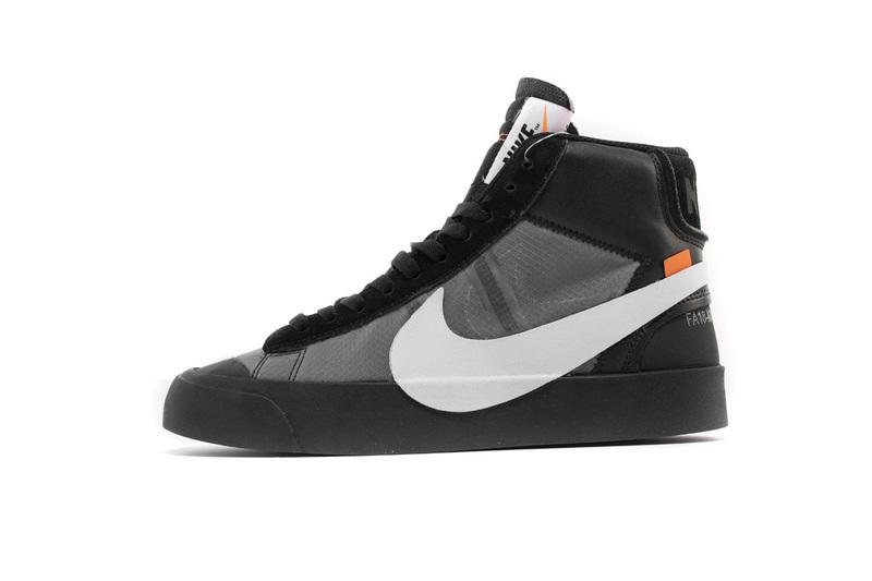 PK God Nike Blazer Mid Off-White Black