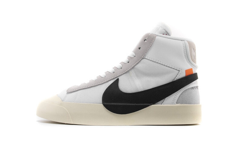 PK God Nike Blazer Mid Off-White