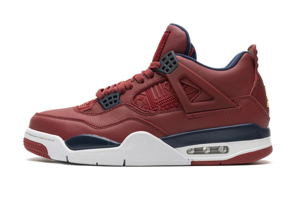 PK God  Air Jordan 4 Retro FIBA Gym Red