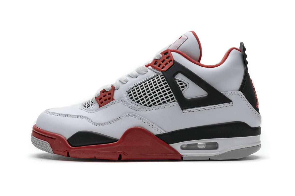 PK God  Air Jordan 4 Retro Fire Red