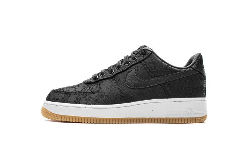 PK God Nike Air Force 1 Low Fragment Clot black