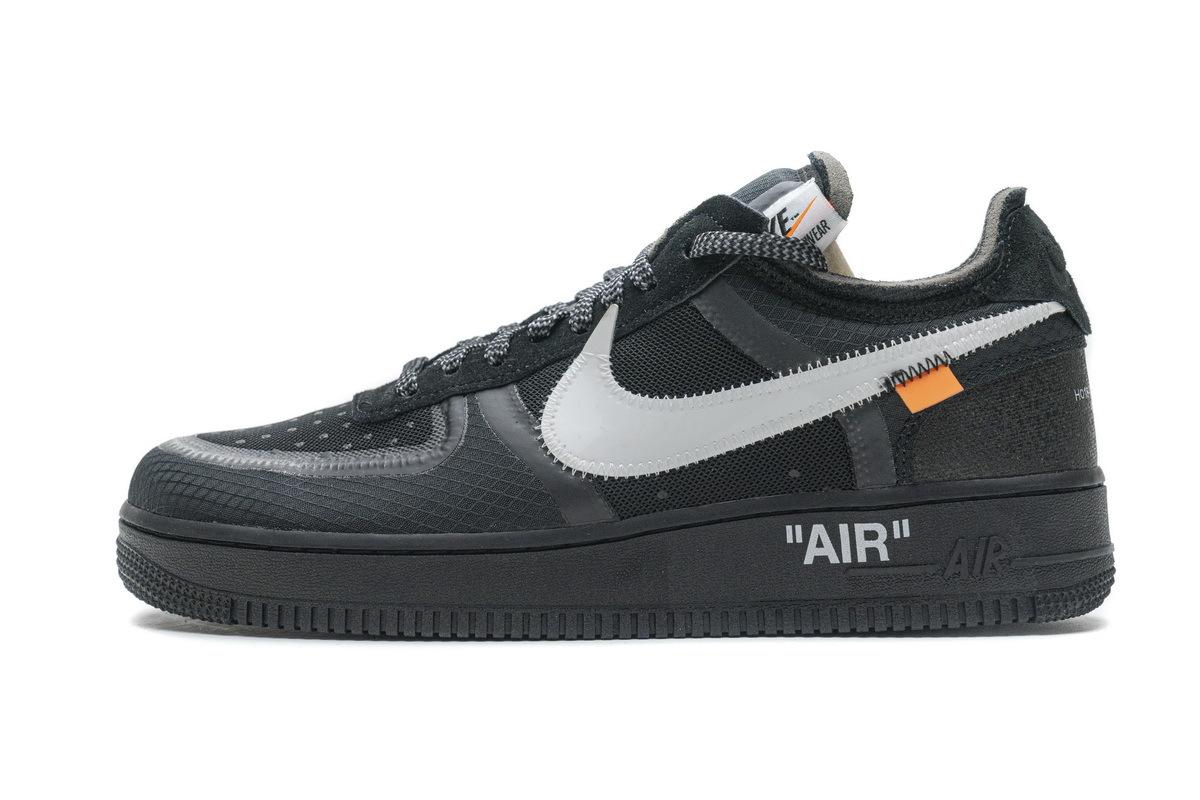 PK God Nike Air Force 1 Low Off-White Black White