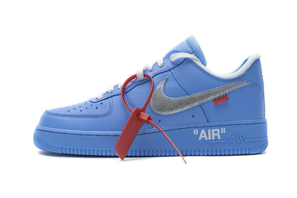 PK God Nike Air Force 1 Low Off-White MCA University Blue