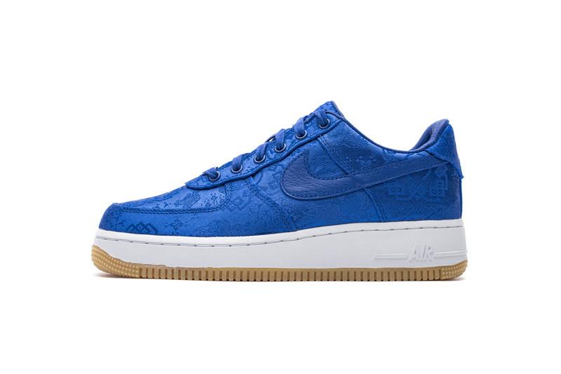 PK God Nike Air Force 1 Low Clot Blue Silk