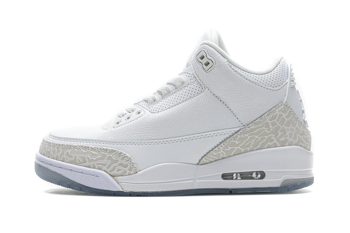 PK God Air Jordan 3 Retro Pure White
