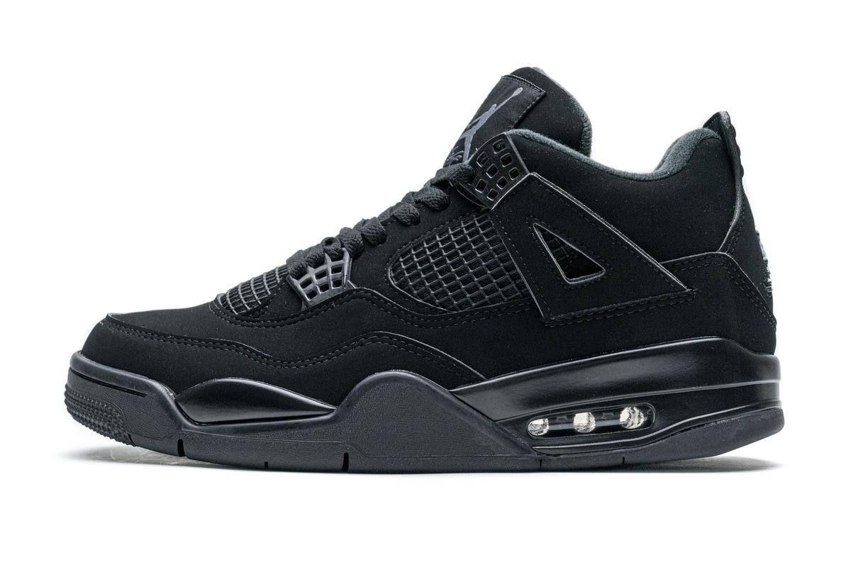 PK God Air Jordan 4 Retro Black Cat