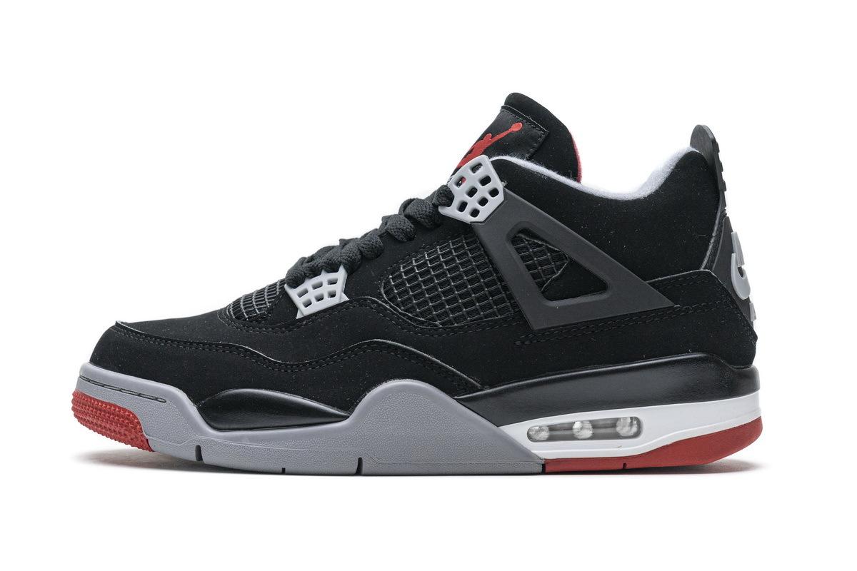 PK God Air Jordan 4 Retro Bred