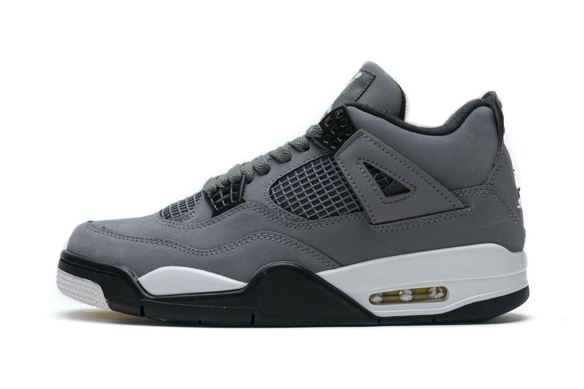 PK God  Air Jordan 4 Retro Cool Grey
