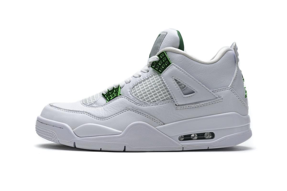 PK God  Air Jordan 4 Retro Metallic Green