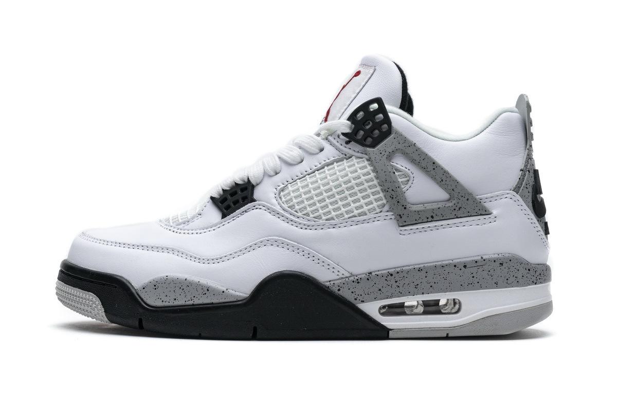 PK God Air Jordan 4 Retro White Cement