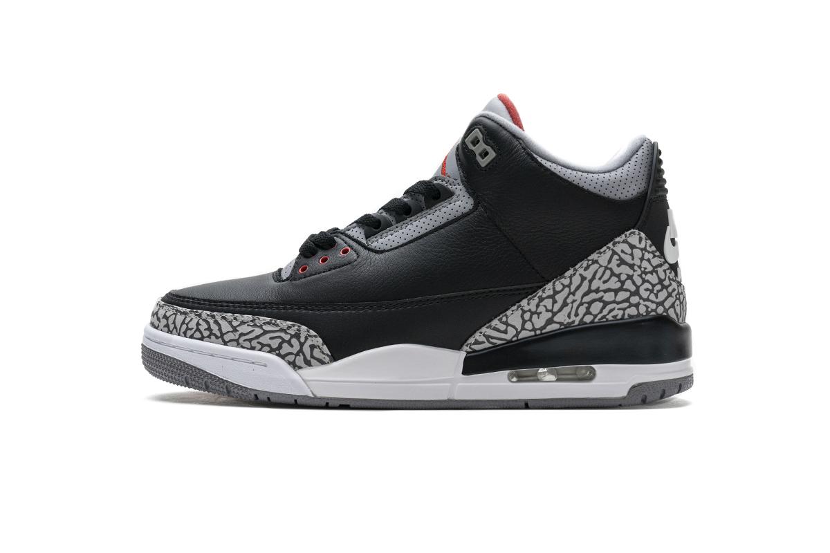 PK God Air Jordan 3 Retro Black Cement