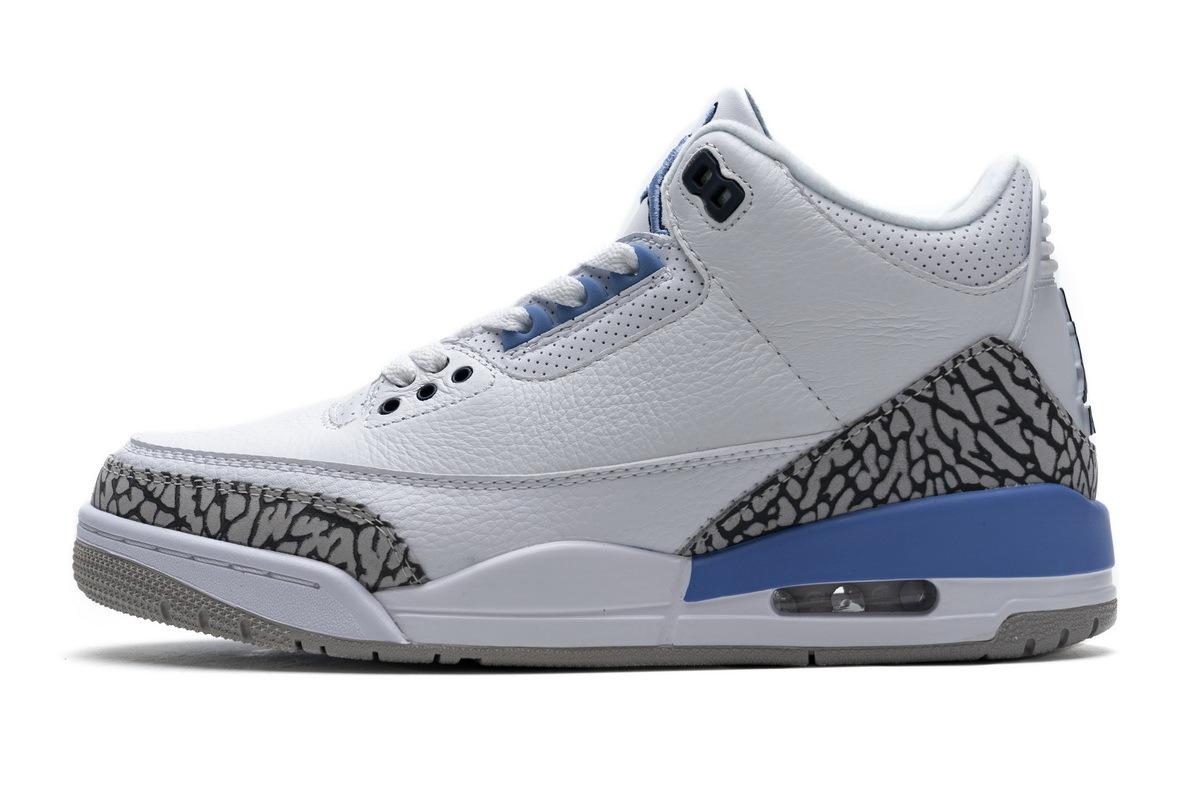 PK God Air Jordan 3 Retro UNC