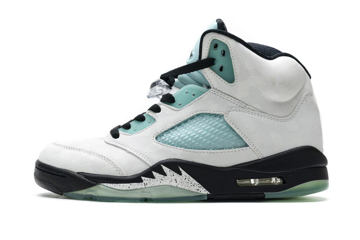 PK God Air Jordan 5 Retro Island Green