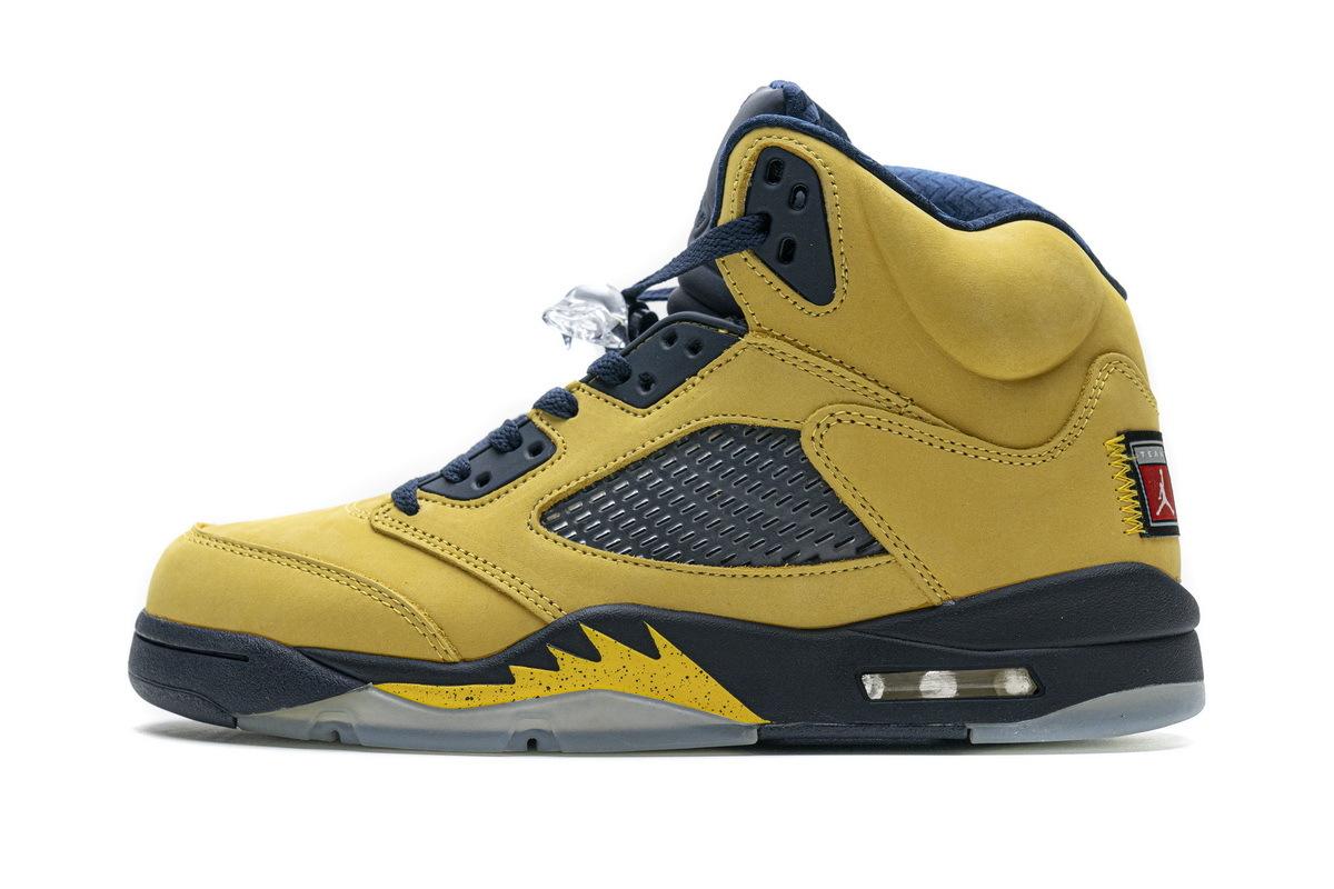 PK God Air Jordan 5 Retro Michigan