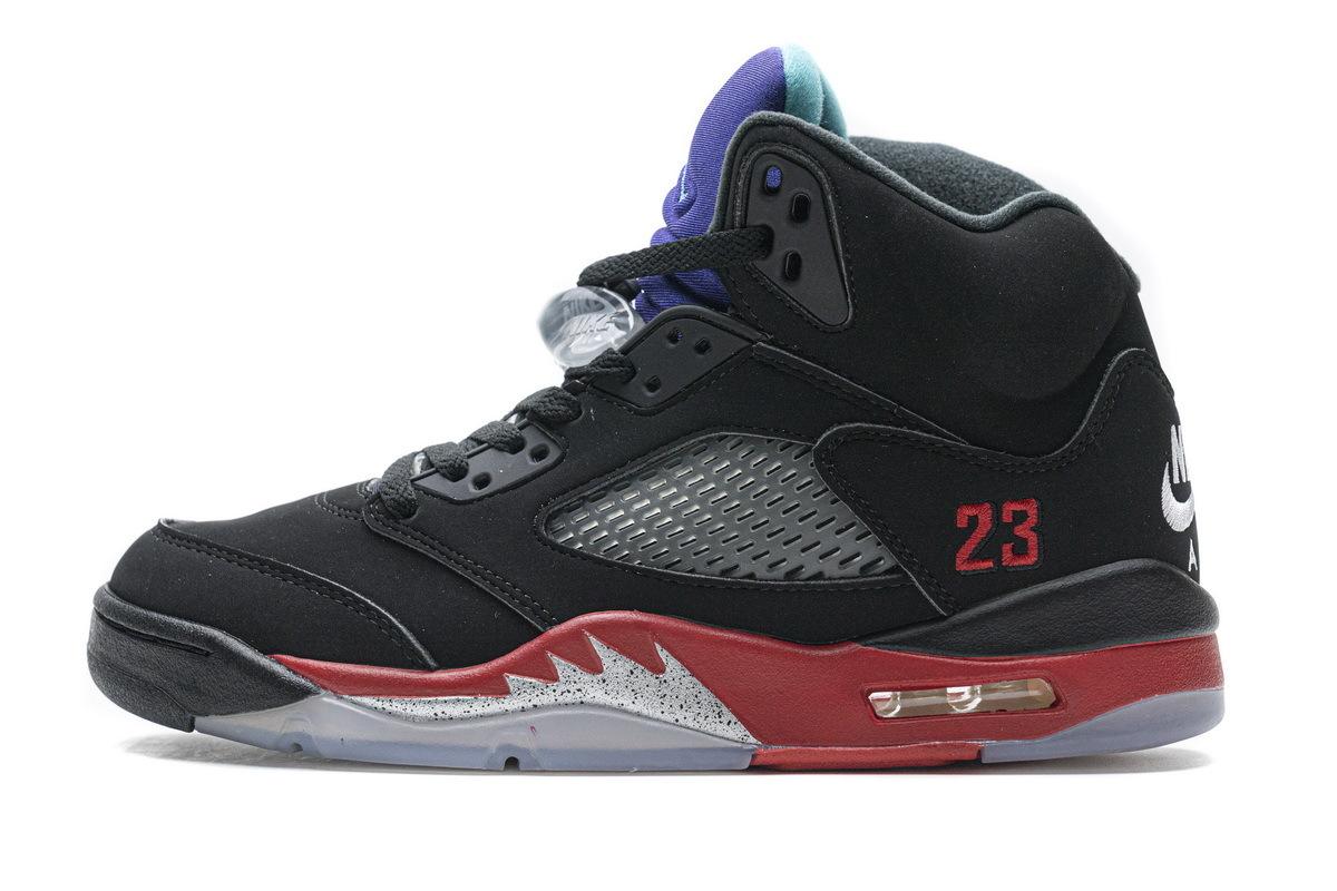 PK God Air Jordan 5 Retro Top 3 Black