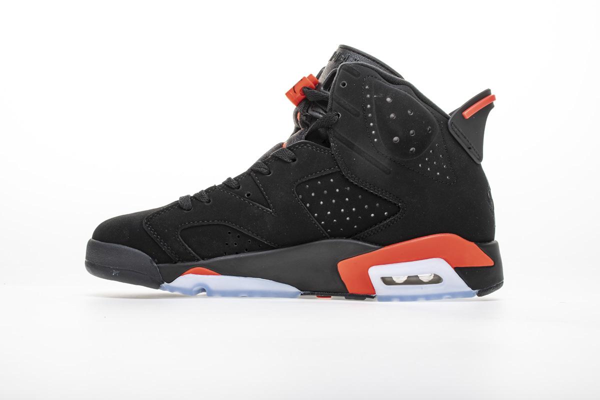 PK God Air Jordan 6 Retro Black Infrared
