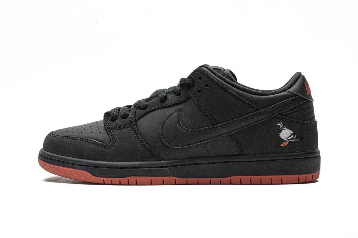 PK God Nike SB Dunk Low Black Pigeon