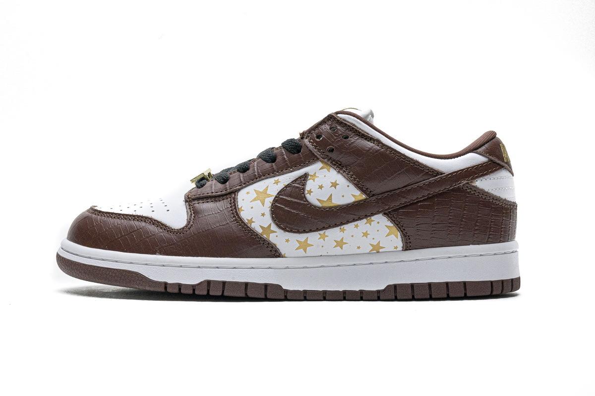 PK God Nike SB Dunk Low Brown Stars