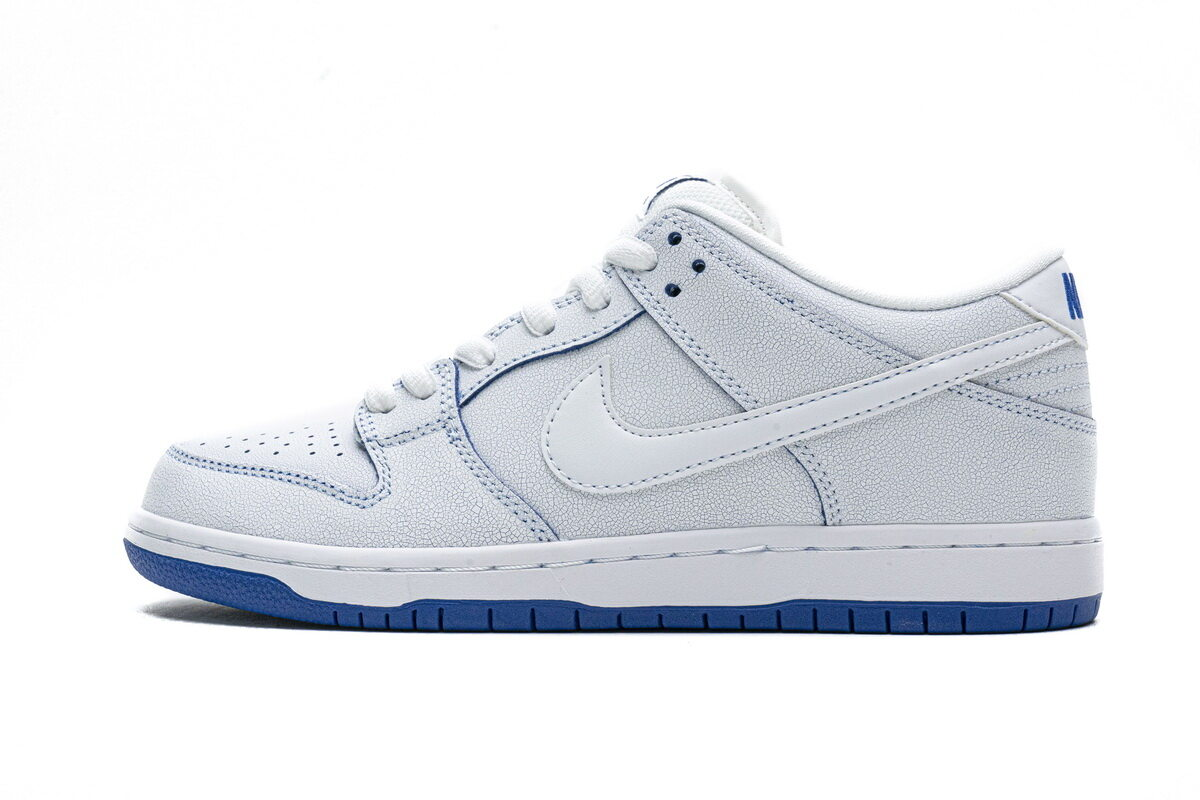 PK God Nike SB Dunk Low Premium White Game Royal
