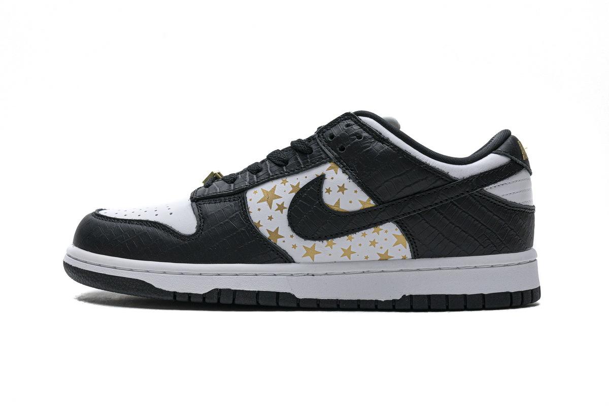 PK God Nike SB Dunk Low Supreme Black Stars