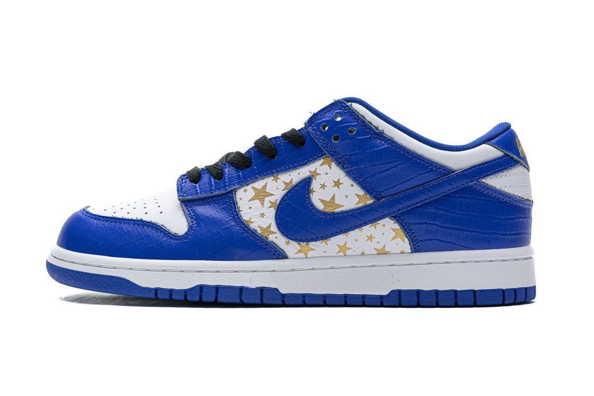 PK God Nike SB Dunk Low Supreme Blue Stars