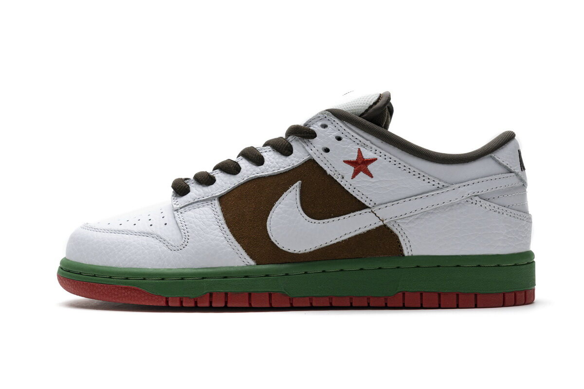 PK God Nike SB Dunk Low California-Cali Pecan/White