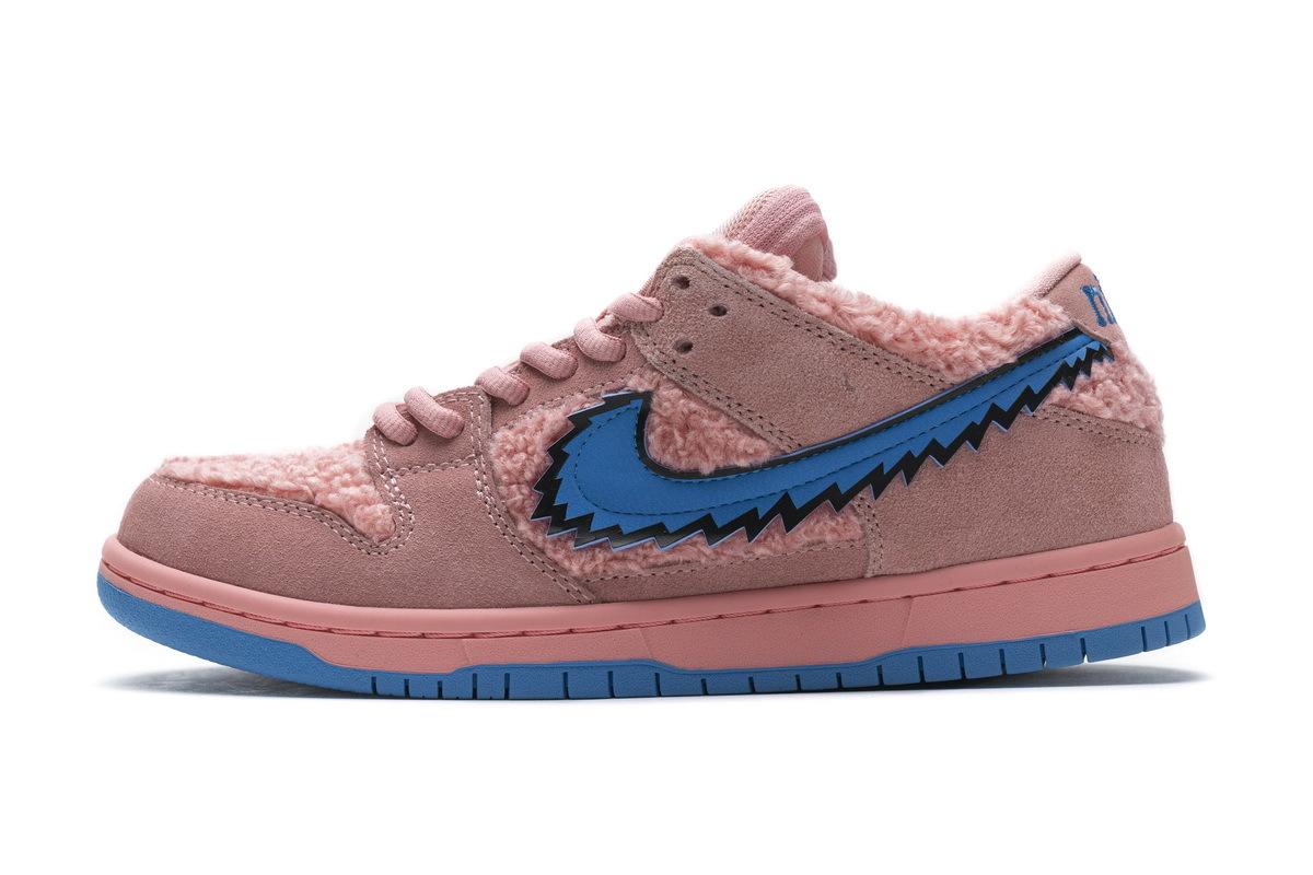 PK God Nike SB Dunk Low Grateful Dead Pink Bear