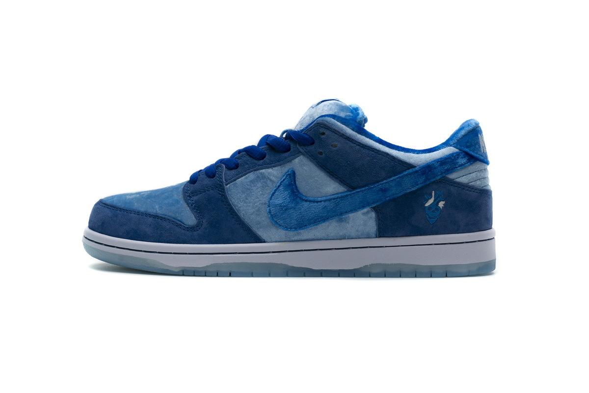 PK God Nike SB Dunk Low Strange Love Blue