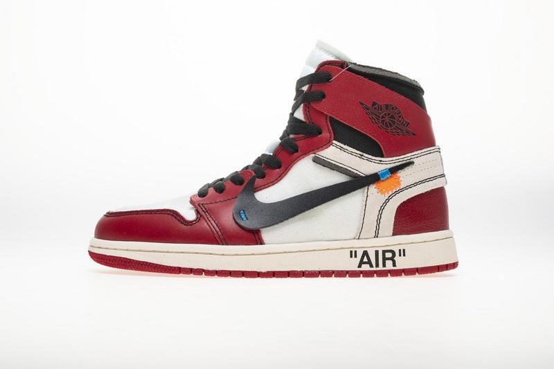 PK God  Air Jordan 1 Retro High Off-White Chicago