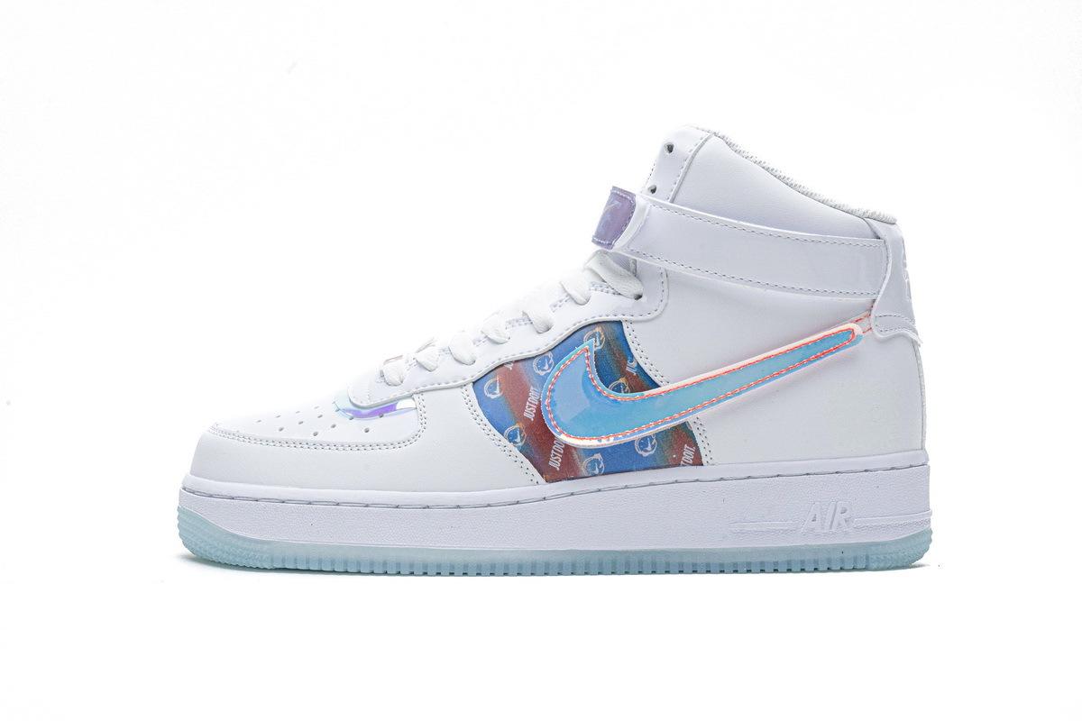 PK God Nike Air Force 1 High Good Game White
