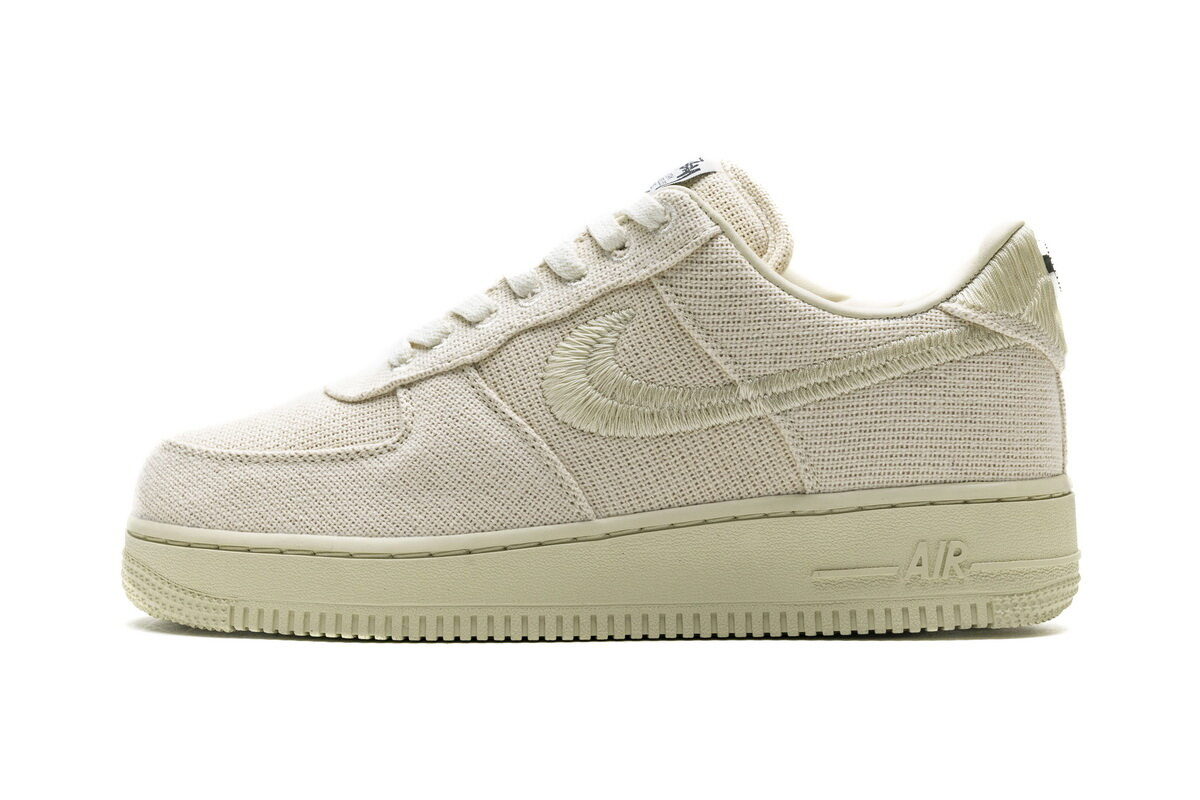 PK God Nike Air Force 1 Low Stussy Fossil