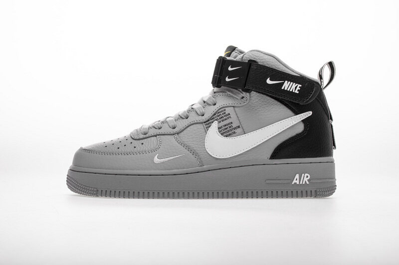 PK God Nike Air Force 1 Mid LV8 Cool Grey