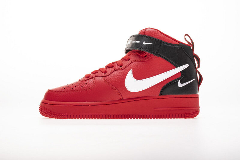 PK God Nike Air Force 1 Mid Utility University Red