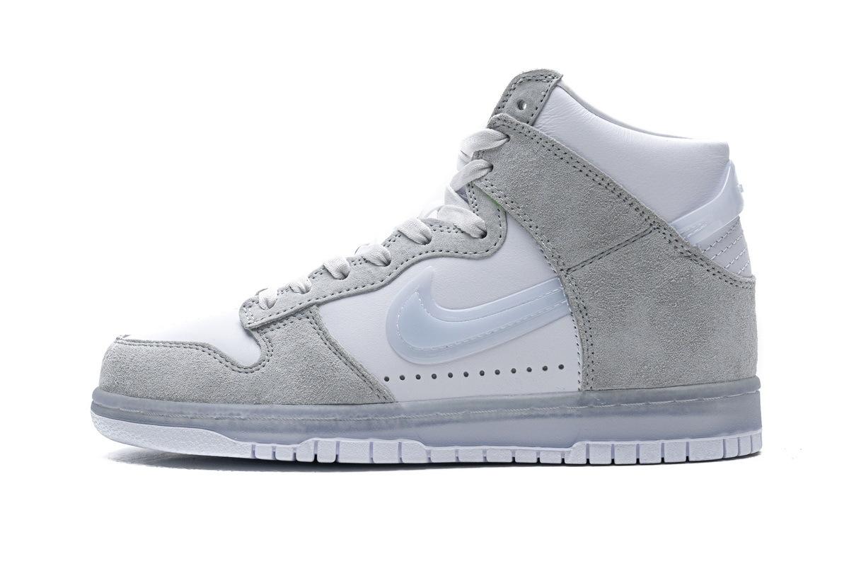 PK God Nike SB Dunk High Slam Jam White Platinum