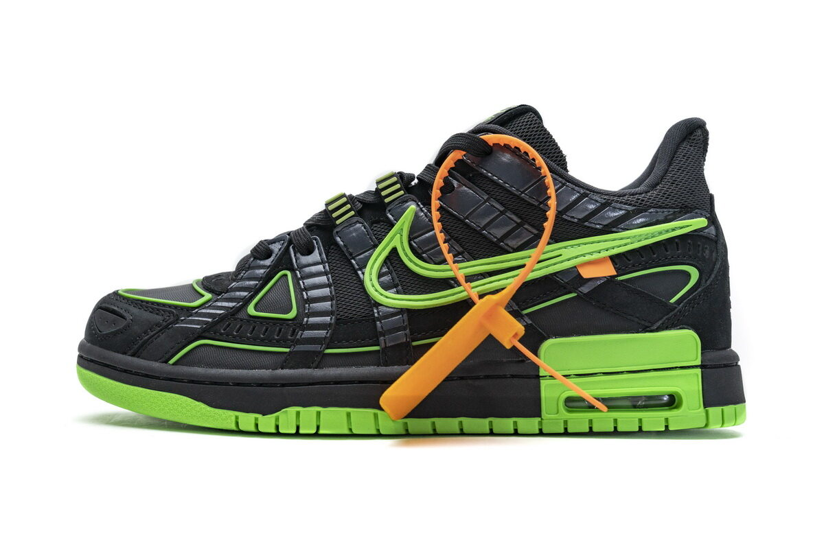 Nike Air Rubber Dunk Off-White Green Strike