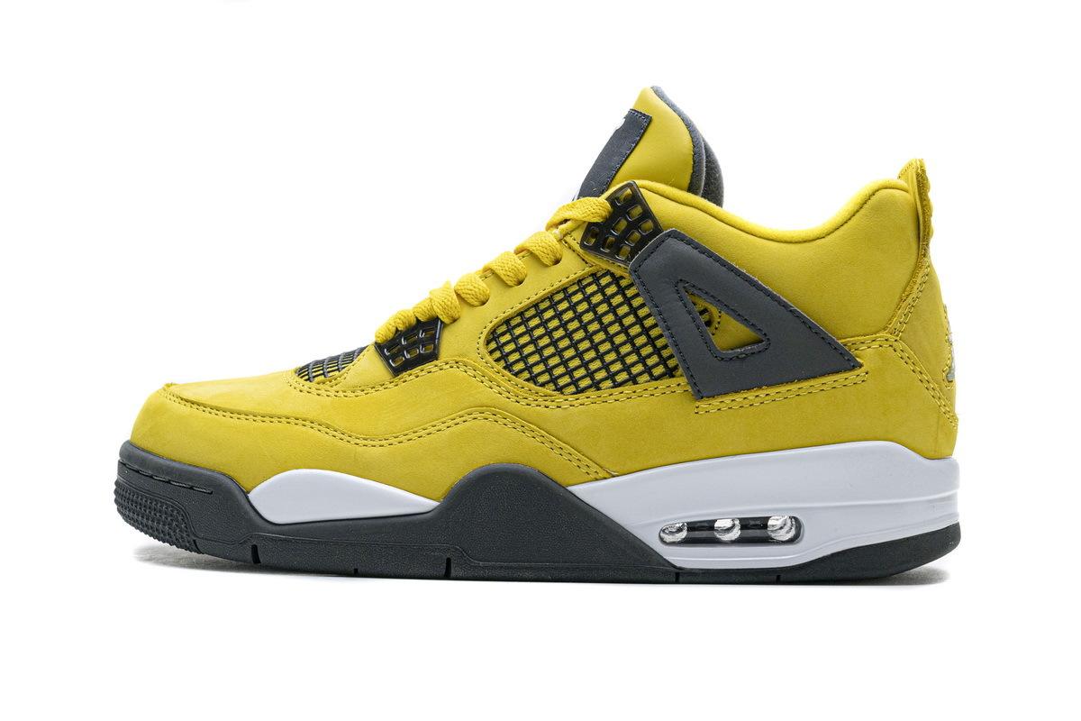 PK God Air Jordan 4 Retro LS Lightning